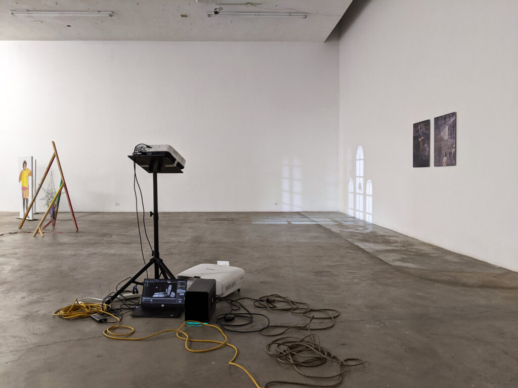 Installation view, Human Resources, Los Angeles, California.